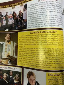 In the program!